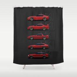 Supra Generations Shower Curtain