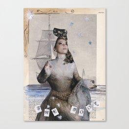 The Fool : A Modern Tarot Card Canvas Print