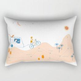 from Paloma to Damian Rectangular Pillow