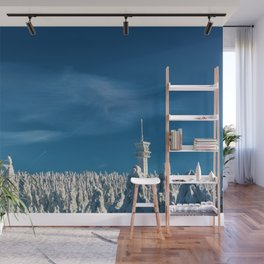 Winter Wonderland - Czechoslovakia Forest Photographic Wall Mural