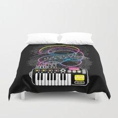 Music Coaster Duvet Cover