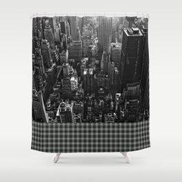 Get Yo Life Cityscape Shower Curtain
