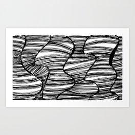 hearsay. Art Print