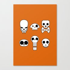 All skulls, all the time. Canvas Print