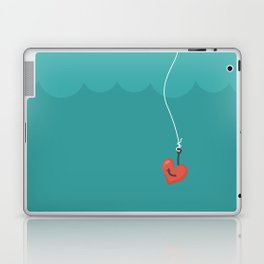 Fishing=Love Laptop & iPad Skin