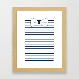 Noeud Pap marin Framed Art Print