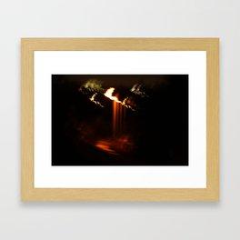 blackout  Framed Art Print