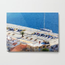 Port Car Park  Metal Print