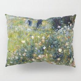 """Auguste Renoir """"Femme avec parasol dans un jardin"""" Pillow Sham"""