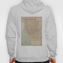 Vintage Map of Buffalo NY (1895) Hoody