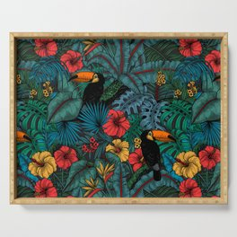Toucan garden Serving Tray