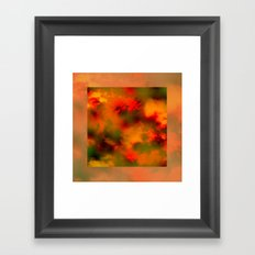 Cosmic clouds in 3D Cube Framed Art Print