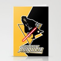 pittsburgh Stationery Cards featuring Pittsburgh Plagueis by Ant Atomic