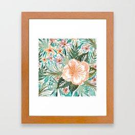 SMELLS LIKE MAUI MORNINGS Framed Art Print