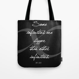Bigger Infinities Tote Bag