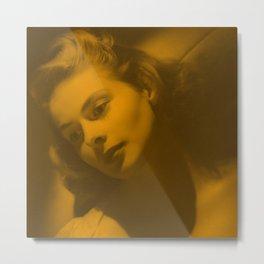 Ingrid Bergman - Celebrity Metal Print