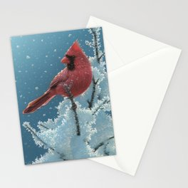 Cardinal - Cherry on Top Stationery Cards