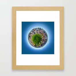 Planète MTL Framed Art Print