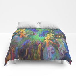 HESTIA & The MERMAIDS (FULL DESIGN) Comforters
