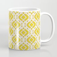 diamonds Mugs featuring Diamonds by Aimee St Hill
