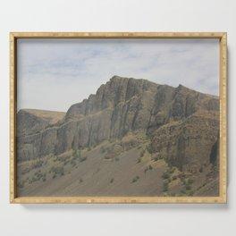 Desert Cliffs in Eastern Washington Serving Tray