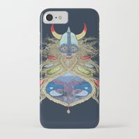 viking iPhone & iPod Cases featuring Viking by Sally Renshaw