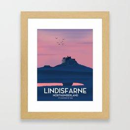 Lindisfarne, Northumberland Framed Art Print