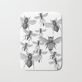 Bees and wasp Flying Bath Mat