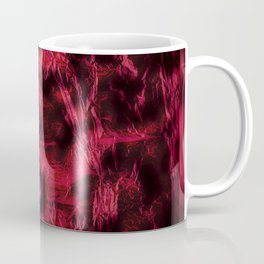 Claret stained texture abstract Coffee Mug