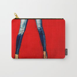 American Woman Carry-All Pouch