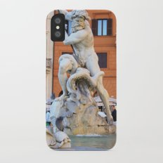 Poseidon - Piazza Navona iPhone X Slim Case