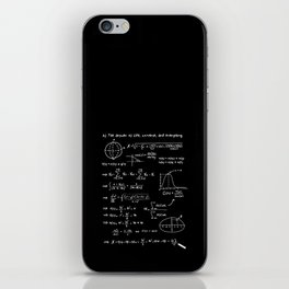 The answer to life, univers, and everything. iPhone Skin