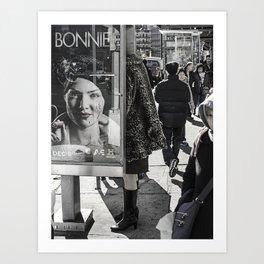 Bowery & Canal Street, NYC Art Print