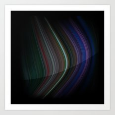 Colour Curves 2 Art Print