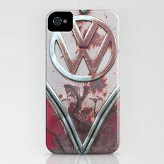 Pink Rusty VW iPhone (4, 4s) Slim Case