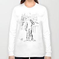 david olenick Long Sleeve T-shirts featuring david by ledi