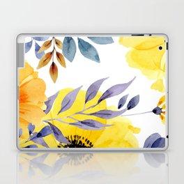 FLOWERS WATERCOLOR 10 Laptop & iPad Skin