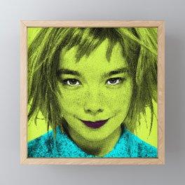Björk Framed Mini Art Print