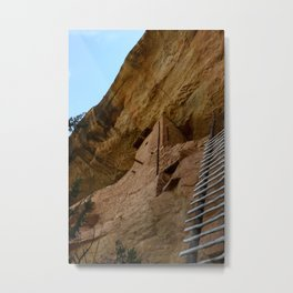 Climb Up the Ladder Metal Print