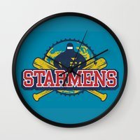 earthbound Wall Clocks featuring Starmens by MeleeNinja