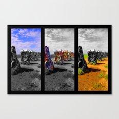 Amarillo Pop Canvas Print