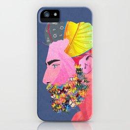 Barba Mariposa iPhone Case