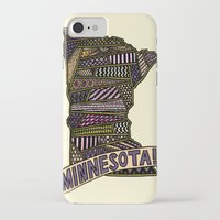 minnesota iPhone & iPod Cases featuring Minnesota! by Colora + Co.