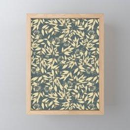 Pohutukawa Garland Framed Mini Art Print