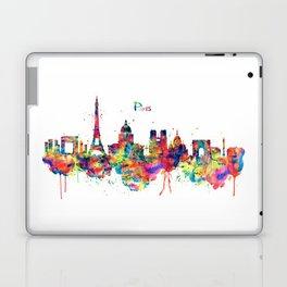 Paris Skyline Silhouette Laptop & iPad Skin