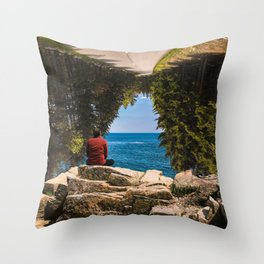 #Tunnel #Vision - 20160520 Throw Pillow