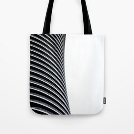 Abstract Architecture Curves Tote Bag