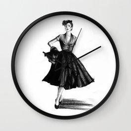 Fashion 1950 Wall Clock