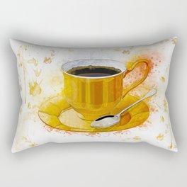 Coffee Art Rectangular Pillow