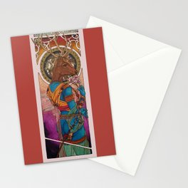 Banka-Mundi--Goddess of the Hunt Stationery Cards